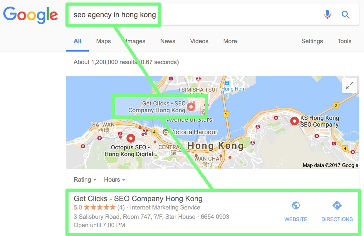 Local Pack SEO Strategy Hong Kong